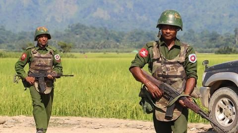 Rohingya refugees recount village massacre by Myanmar military