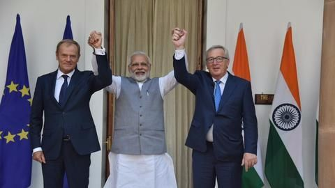 India-EU joint-statement on fighting terrorism