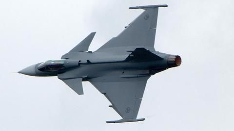 F-16 and Saab Grippen compete for IAF deal