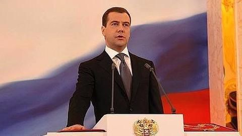 PM Medvedev says sanctions 'end hopes' of improved US-Russia ties