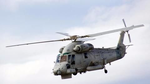 Navy is critically short of helicopters
