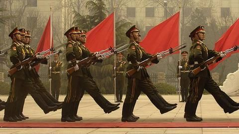 What the Chinese military exercise includes