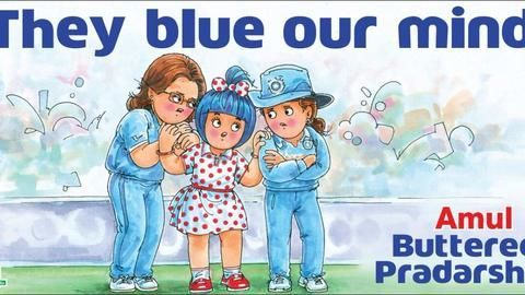 Amul Girl: One of the longest and cheapest ad campaigns