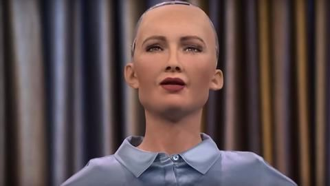 Introducing you to Sophia The Humanoid