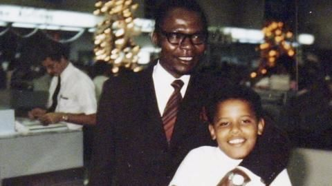Barack Obama Sr's books on native practices auctioned