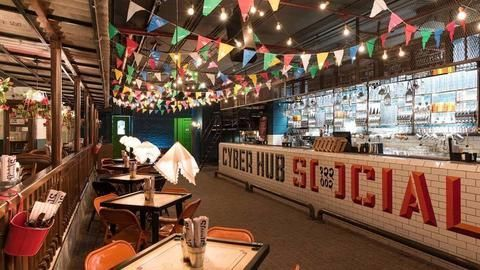 Liquor ban: Cyber Hub serves first drink in 35 days