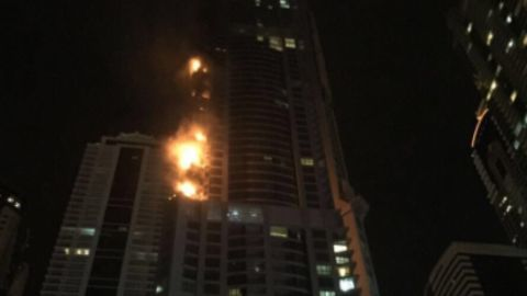 Major fire at Dubai's Torch Tower, world's 32nd tallest building