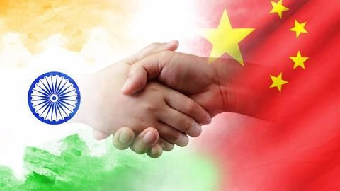 """""""Cooperation and competition between India and China"""""""