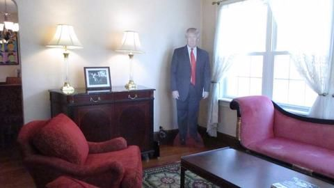 You can now stay in Trump's childhood home