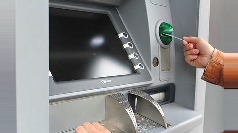 Fall in ATM numbers, a rare trend