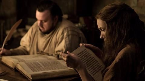 Samwell Tarly and Gilly lose themselves in books