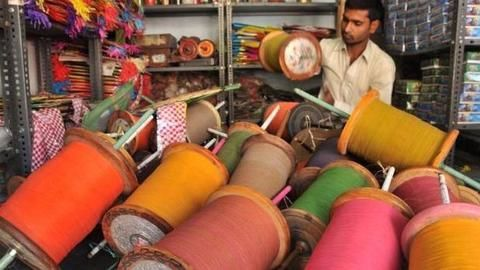 No more glass-coated manjha for flying kites