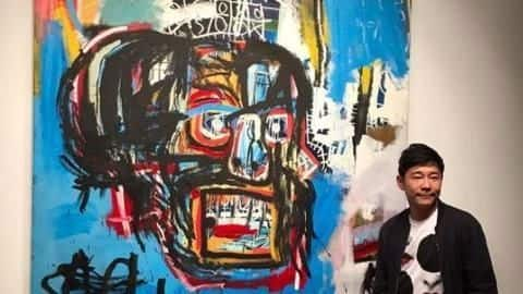 Basquiat painting fetches record $110.5mn