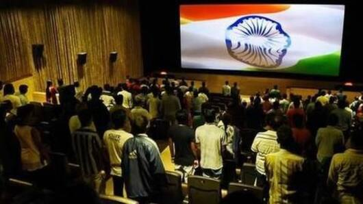 No more playing of national anthem in theatres