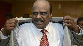 The controversial Justice Karnan leaves prison after six months