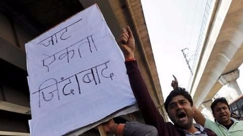 Jats protest in Rajasthan for OBC quota