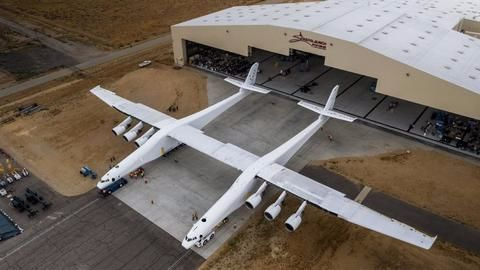 Stratolaunch, the world's largest airplane