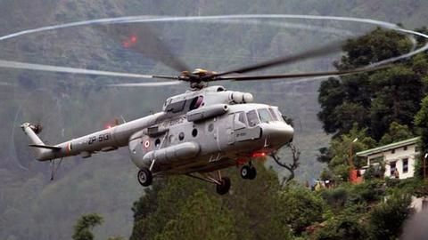 IAF chopper crashes in Arunachal Pradesh