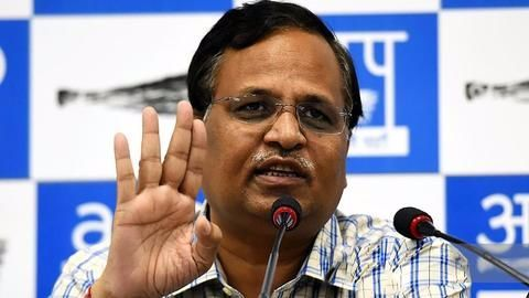 Satyendra Jain files defamation cases against Kapil Mishra, Manjinder Sirsa