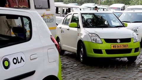 Ola raises Rs. 1,675cr from SoftBank in down round