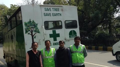Tree Conservation- Delhi's special ambulance for sick trees, and more