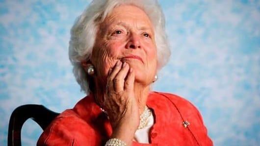Former US First Lady Barbara Bush no more