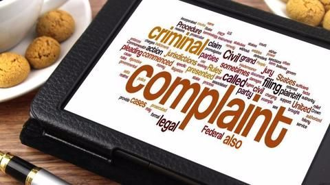 Methods to improve the complaint filing process