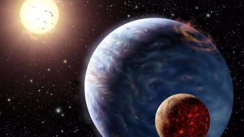 The first potential exomoon might have been discovered