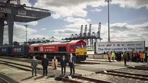 First UK-China freight train completes 12,000km journey