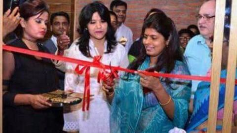 Controversy for BJP as minister seen inaugurating bar