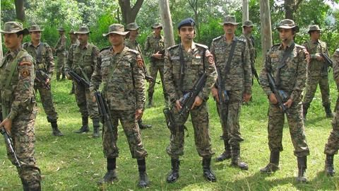 Personnel out of danger, combing operations on