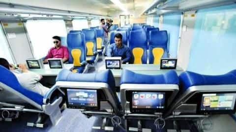No more infotainment devices on the Tejas Express