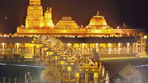 How much does India's richest Hindu temple own?