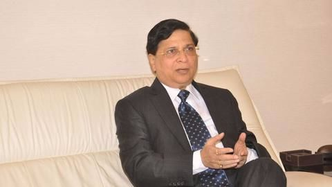 Justice Dipak Misra sworn in as 45th Chief Justice