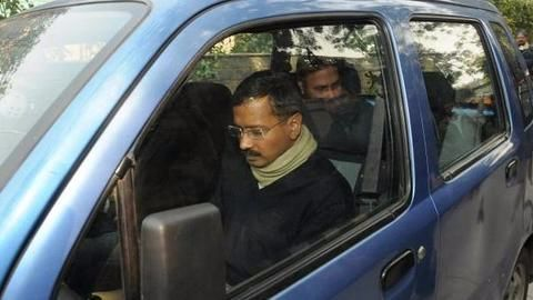 Kejriwal's iconic blue WagonR recovered two days after theft