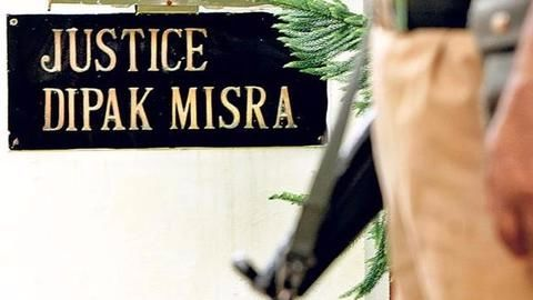 Justice Dipak Misra the first CJI to have 'Z'-category security