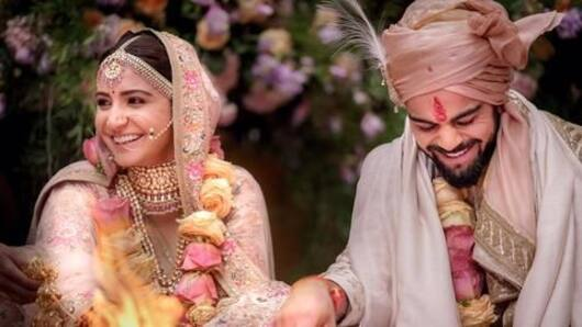 MLA questions Kohli's patriotism for marrying in Italy