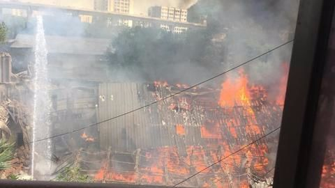 Major fire at Mumbai's RK Studio