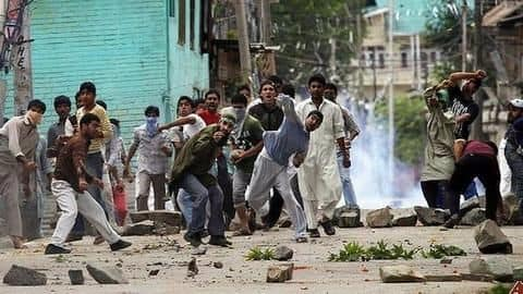 Violence in several parts of Kashmir on Eid-ul-Fitr