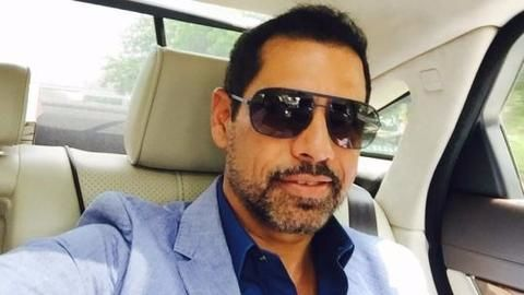 4 FIRS against Robert Vadra's firm in Rajasthan land deals