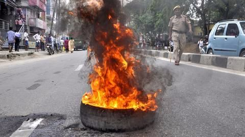 Second communal clashes in a week in Ranchi