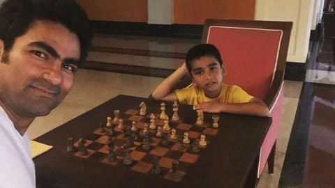 Now Mohammad Kaif abused over father-son playing 'haram' chess