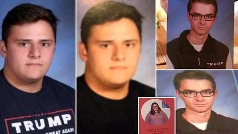 Teacher suspended for editing out Trump references from yearbook