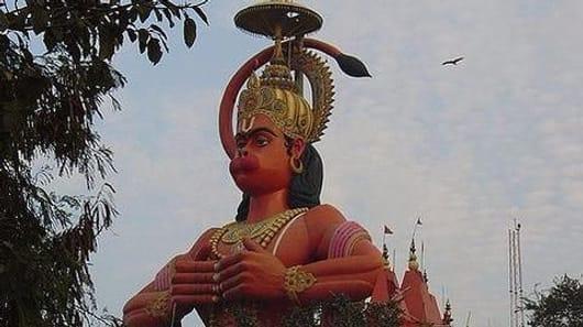 Delhi HC wants iconic Hanuman statue 'airlifted'