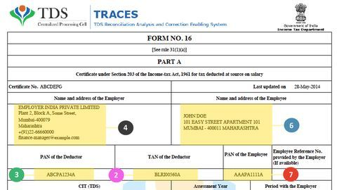 How to check for accuracy in Form 16