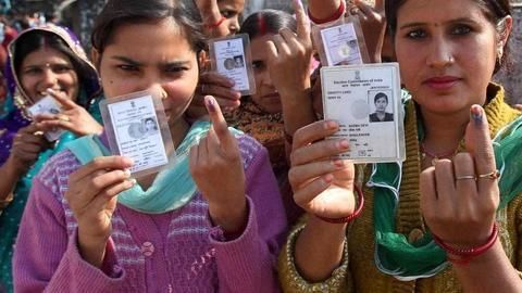 Just 40% of newly-eligible voters in India are registered