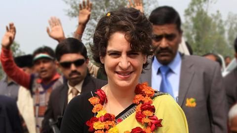 Priyanka Gandhi missing in action in Rae Bareli, Amethi