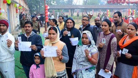 5th phase of polling in UP starts on peaceful note