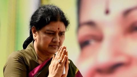 Sasikala, the prisoner, breaks rules, hosts guests