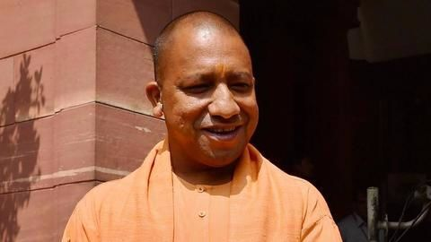 Yogi's first month in power : A glance